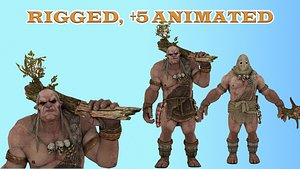 Monster Beasts Collection 3D model