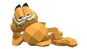 3D Garfield Cat