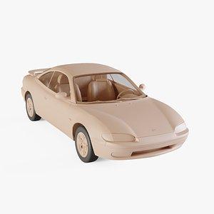 1992 Mazda MX-6 3D model