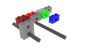 Lego Bricks With Axle Hole