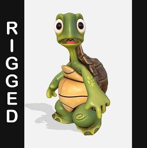Turtle Stylized 3D model