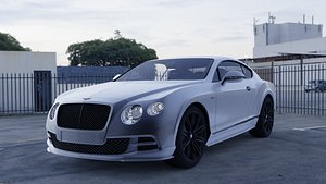 bentley continental 2015 3D model