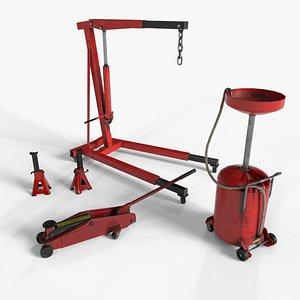 Garage Equipment 3D model