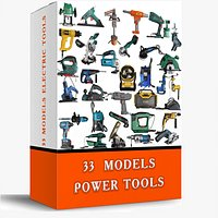 33 MODELS ELECTRIC TOOLS PACK Collection