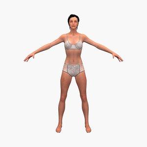 natasha 3D model
