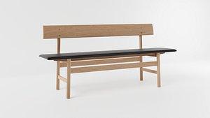3D The Mogensen Bench model