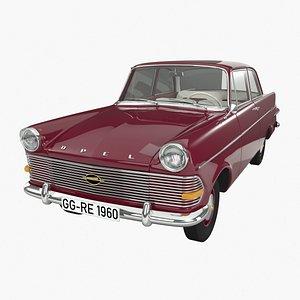 3D Opel Rekord P2