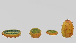3D fruit food model