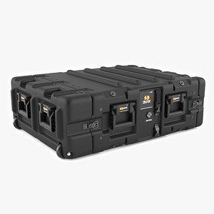 Pelican 4U Rackmount Case model