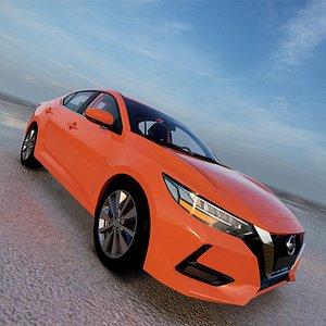 3D 2022 Nissan Sylphy Sentra model