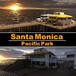 3D Santa Monica Pacific Park