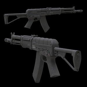 3D AEK 971 Low Poly model
