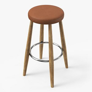ch56 bar stool lighting 3D model