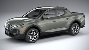 3D Hyundai Santa Cruz 2022
