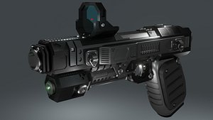 3D Blake Handgun 01