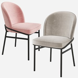 eichholtz willis dining chair 3D model