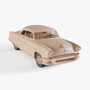 1955 Lincoln Capri 3D model