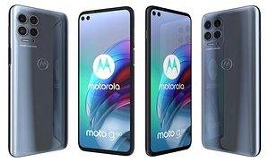 Motorola Moto G100 Slate Grey 3D model
