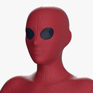 Superhero costumes Marvelous Clo 3D Gen 8 zprj obj fbx 3D model 3D model