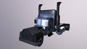 3D model Truck Game Ready High Poly