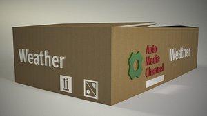 Generic Logo Camera Animation 3D model