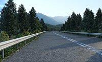 Highway natural scenery highway road national highway
