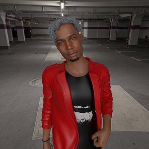 3D Ken Carson 3D Model
