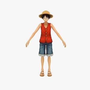 3D Monkey D Luffy