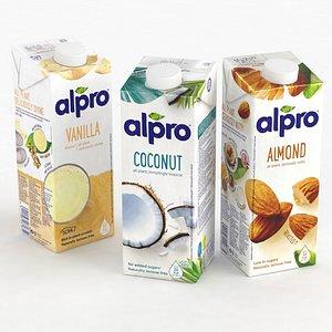 Alpro Drink 1L 2021 collection 3D model