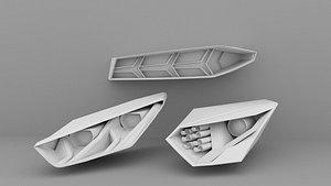 Headlights Rearlight Sport Car 02 3D model