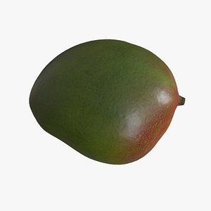 3D food fruit mango