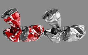 crushed soda 3D model