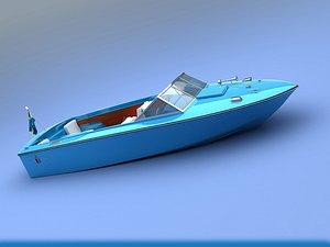 3D chris craft 1969