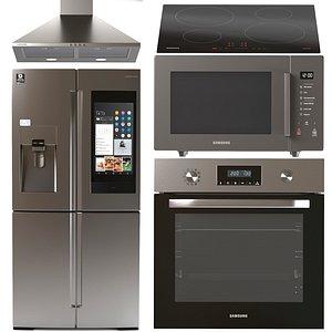3D oven samsung microwave hob