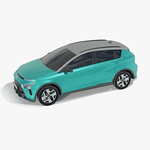 3D Bayon i20 SuV Compact model