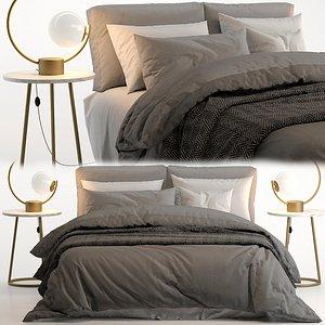 bed adairs 3D model