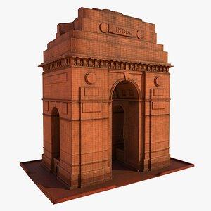 India Gate 3D