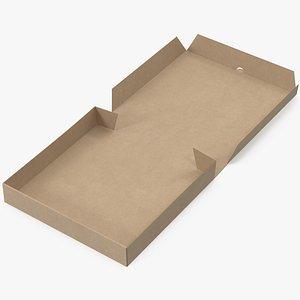 pizza box mockup 3D