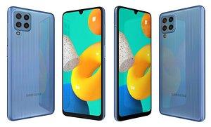 Samsung Galaxy M32 Light Blue 3D model