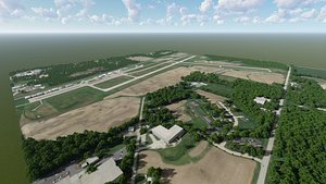 manitowoc county airport aircraft 3D model
