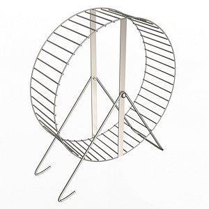 3D Hamster Wheel model