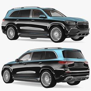 3D Luxury SUV model