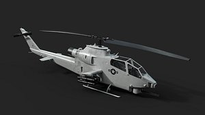 3D AH1-S Cobra model