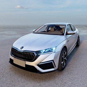 Skoda Octavia Sedan RS 2021 3D model