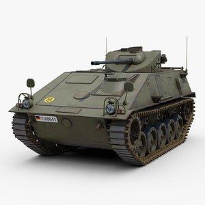 Schutzenpanzer Kurz 3D model