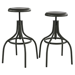 Bar stool Malisa CC0837R02 3D