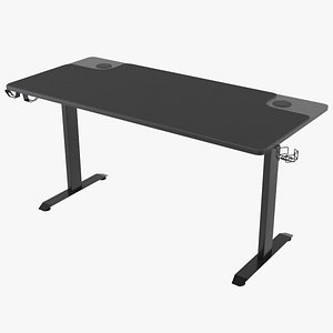 3D desk gaming model