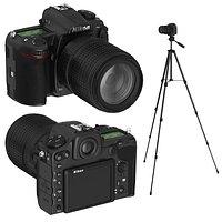 Nikon D500  on a crank