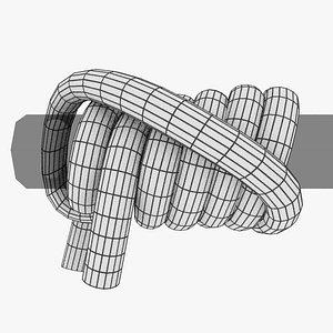 knot hitch 3D