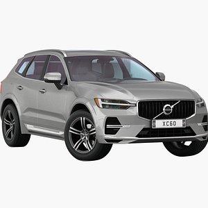 Volvo XC60 2021 Low Interior 3D model
